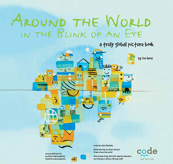 Around the World in the Blink of an Eye Book Cover